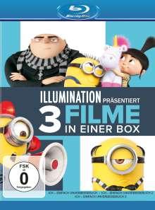 Ich - Einfach unverbesserlich 1-3 (Blu-ray), 3 Blu-ray Discs