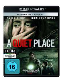 A Quiet Place (Ultra HD Blu-ray & Blu-ray), 1 Ultra HD Blu-ray und 1 Blu-ray Disc