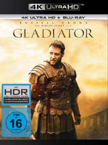 Gladiator (1999) (Ultra HD Blu-ray & Blu-ray), 1 Ultra HD Blu-ray und 1 Blu-ray Disc