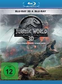 Jurassic World: Das gefallene Königreich (3D & 2D Blu-ray), 2 Blu-ray Discs