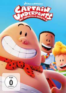 Captain Underpants - Der supertolle erste Film, DVD