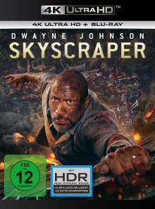Skyscraper (Ultra HD Blu-ray & Blu-ray), 1 Ultra HD Blu-ray und 1 Blu-ray Disc