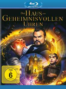 Das Haus der geheimnisvollen Uhren (Blu-ray), Blu-ray Disc