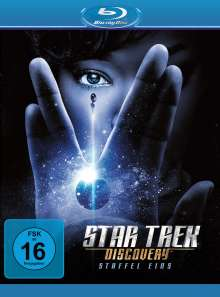 Star Trek Discovery Staffel 1 (Blu-ray), 4 Blu-ray Discs