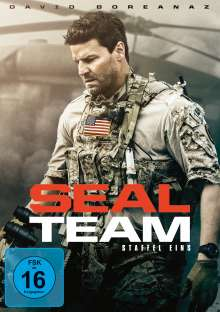 SEAL Team Season 1, 6 DVDs