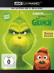 Der Grinch (2018) (Ultra HD Blu-ray & Blu-ray), 2 Ultra HD Blu-rays