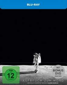 Aufbruch zum Mond (Blu-ray im Steelbook), 1 Blu-ray Disc und 1 DVD