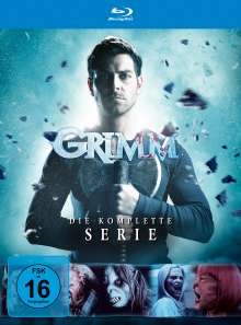 Grimm (Komplette Serie) (Blu-ray), 28 Blu-ray Discs