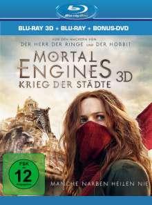Mortal Engines: Krieg der Städte (3D & 2D Blu-ray), 2 Blu-ray Discs und 1 DVD
