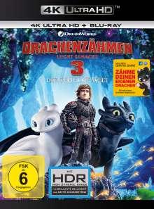 Drachenzähmen leicht gemacht 3 - Die geheime Welt (Ultra HD Blu-ray & Blu-ray), 1 Ultra HD Blu-ray und 1 Blu-ray Disc