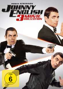 Johnny English 3 Movie Collection, 3 DVDs