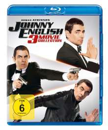 Johnny English 3 Movie Collection (Blu-ray), 3 Blu-ray Discs