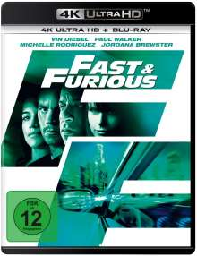 Fast & Furious - Neues Modell. Originalteile (Ultra HD Blu-ray & Blu-ray), 1 Ultra HD Blu-ray und 1 Blu-ray Disc