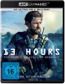 13 Hours - The Secret Soldiers of Benghazi (Ultra HD Blu-ray & Blu-ray), 1 Ultra HD Blu-ray und 1 Blu-ray Disc