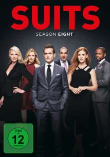 Suits Season 8, 4 DVDs