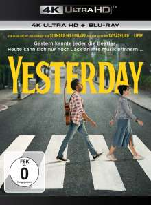 Yesterday (Ultra HD Blu-ray & Blu-ray), 1 Ultra HD Blu-ray und 1 Blu-ray Disc