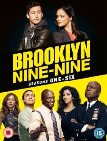 Brooklyn Nine-Nine Season 1-6 (UK Import), 19 DVDs