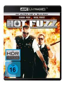 Hot Fuzz (Ultra HD Blu-ray & Blu-ray), 1 Ultra HD Blu-ray und 1 Blu-ray Disc