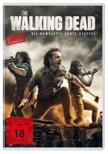 The Walking Dead Staffel 8, 6 DVDs