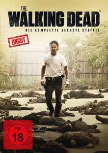 The Walking Dead Staffel 6, 6 DVDs