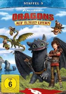 Dragons - Auf zu neuen Ufern Staffel 5, 4 DVDs