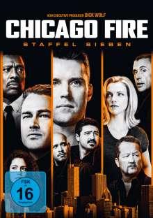 Chicago Fire Staffel 7, 6 DVDs