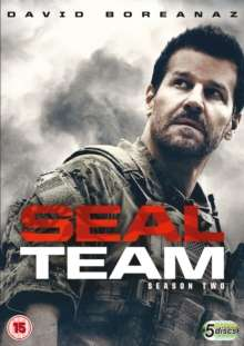 SEAL Team Season 2 (UK Import), 5 DVDs