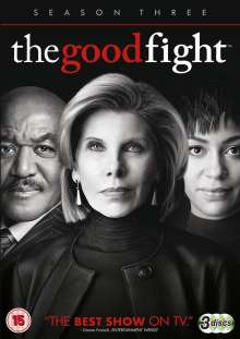 The Good Fight Season 3 (UK Import), 3 DVDs