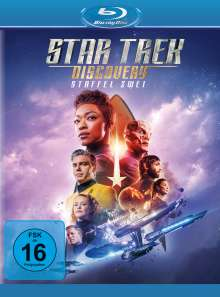Star Trek Discovery Staffel 2 (Blu-ray), 4 Blu-ray Discs