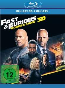 Fast & Furious: Hobbs & Shaw (3D & 2D Blu-ray), 2 Blu-ray Discs