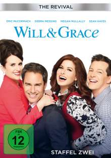 Will & Grace (The Revival) Staffel 2, 2 DVDs