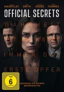 Official Secrets, DVD