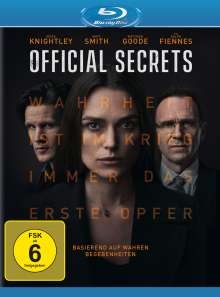 Official Secrets (Blu-ray), Blu-ray Disc