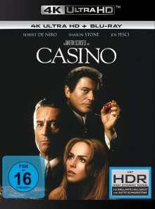 Casino (Ultra HD Blu-ray & Blu-ray), 1 Ultra HD Blu-ray und 1 Blu-ray Disc
