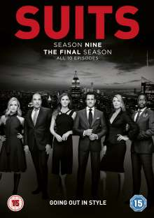 Suits Season 9 (UK Import), 3 DVDs