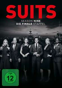 Suits Season 9 (finale Staffel), 3 DVDs
