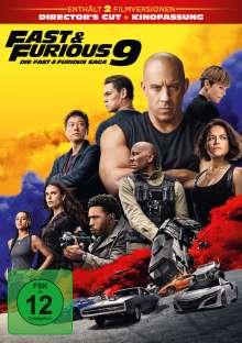 Fast & Furious 9 - Die Fast & Furious Saga, DVD