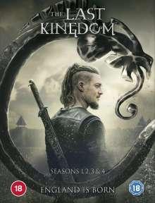 The Last Kingdom Season 1-4 (UK Import), 14 DVDs