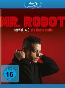 Mr. Robot Staffel 4 (finale Staffel) (Blu-ray), 4 Blu-ray Discs