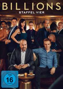 Billions Staffel 4, 4 DVDs