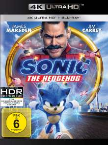 Sonic the Hedgehog (Ultra HD Blu-ray & Blu-ray), 1 Ultra HD Blu-ray und 1 Blu-ray Disc