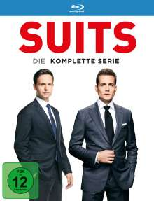 Suits (Komplette Serie) (Blu-ray), 34 Blu-ray Discs