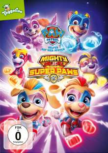 Paw Patrol: Mighty Pups Super Paws, DVD
