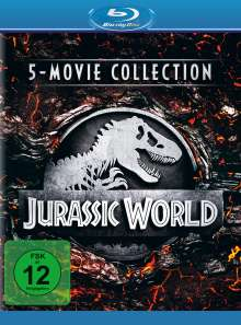 Jurassic World - 5-Movie Collection (Blu-ray), 5 Blu-ray Discs