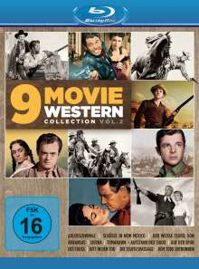 9 Movie Western Collection Vol. 2 (Blu-ray), 3 Blu-ray Discs