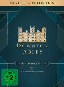Downton Abbey (Collector's Edition) (Komplette Serie inkl. Film), 27 DVDs