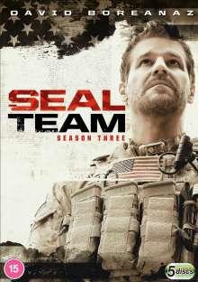 SEAL Team Season 3 (UK Import), 5 DVDs