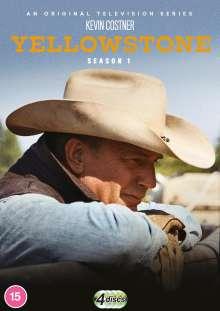 Yellowstone Season 1 (UK Import), 4 DVDs