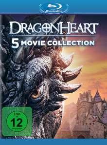 Dragonheart 1-5 (Blu-ray), 5 Blu-ray Discs