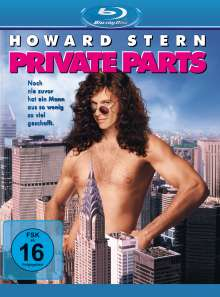 Private Parts (Blu-ray), Blu-ray Disc